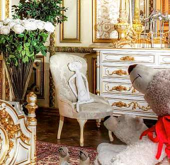 Стул ASNAGHI INTERIORS New classic collection IT3005